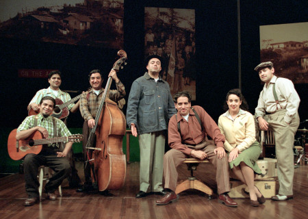 The cast of 'Chavez Ravine'