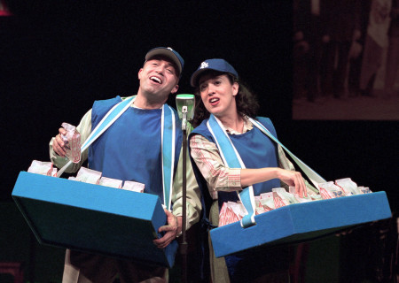 (L–R) Herbert Siguenza and Eileen Galindo in 'Chavez Ravine.'