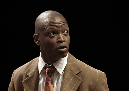 Larry Gilliard, Jr. in 'Topdog/Underdog.'