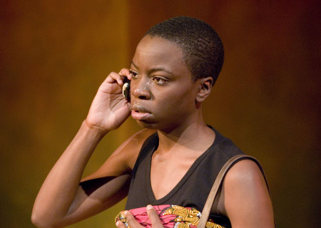 Danai Gurira in 'In the Continuum.'