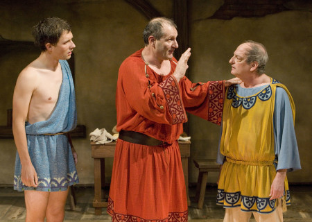 (L-R) Michael Cassidy, Ed O'Neill, and David Paymer in 'Keep Your Pantheon.'