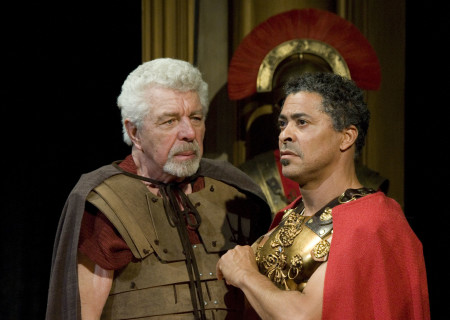 (L-R) J.J. Johnston and Dominic Hoffman in 'Keep Your Pantheon.'