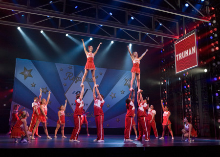 "The cast of the national tour of ""Bring It On: The Musical."""