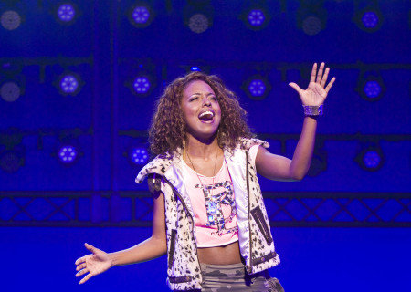 "Adrienne Warren in the national tour of ""Bring It On: The Musical."""