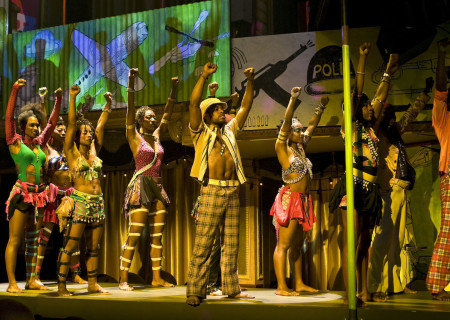 "The Broadway cast of ""Fela!"""