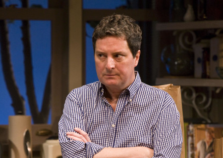 "Christopher Evan Welch in the world premiere of Theresa Rebeck's ""Poor Behavior"" at the Mark Taper Forum. ""Poor Behavior,"" directed by Doug Hughes, opens September 18 and continues through October 16, 2011."