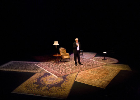 """Tony®, Emmy®, and Golden Globe Award winner John Lithgow in his """"Stories by Heart,"""" a special one-man theatrical memoir at the Mark Taper Forum through February 13, 2011."""