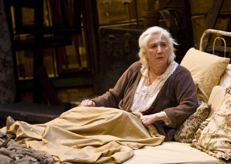 "Olympia Dukakis in the American Conservatory Theater production of ""Vigil"" at the Mark Taper Forum, opening November 6 and continuing through December 18, 2011. ""Vigil"" is written and directed by Morris Panych."
