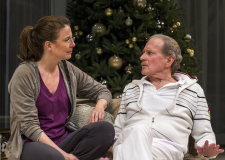 Robin Weigert and Robert Foxworth in 'Other Desert Cities.'