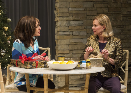 (L-R) Jeannie Berlin and JoBeth Williams in 'Other Desert Cities.'