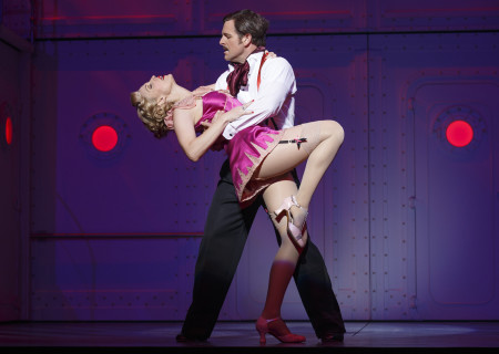 "Rachel York and Edward Staudenmayer in Roundabout Theatre Company's ""Anything Goes."""