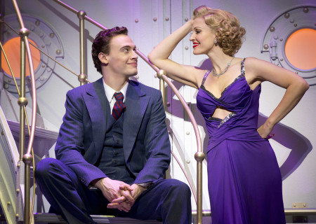 "Erich Bergen and Rachel York in the Roundabout Theatre Company's ""Anything Goes."""