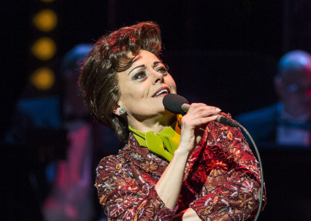 """Tracie Bennett in """"End of the Rainbow."""""""