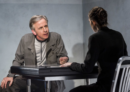"Robert Joy and Jeanne Syquia in the World premiere of ""The Nether"" at the Douglas."