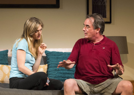 """Marin Ireland and Tom Irwin in """"A Parallelogram."""" <br /> <br />"""