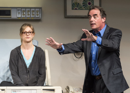 """Marin Ireland and Tom Irwin in """"A Parallelogram."""""""
