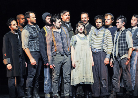 """The company of """"Peter and the Starcatcher."""""""