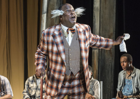 """Trent Armand Kendall in Kander and Ebb's """"The Scottsboro Boys."""""""