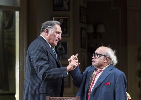 (L–R) Judd Hirsch and Danny DeVito in Neil Simon's 'The Sunshine Boys' at the Ahmanson Theatre.