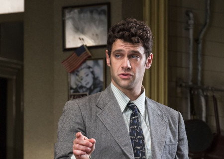 "Justin Bartha in Neil Simon's ""The Sunshine Boys"" at the Ahmanson Theatre."