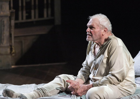 "Brian Dennehy in Sebastian Barry's ""The Steward of Christendom"" at the Mark Taper Forum."
