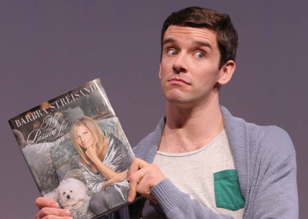 Michael Urie in the West Coast premiere of 'Buyer & Cellar' at the Mark Taper Forum.