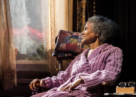 Cicely Tyson in the critically acclaimed, Tony-nominated Broadway revival of Horton Foote's American masterpiece 'The Trip to Bountiful' at the Ahmanson Theatre.