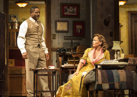 (L–R) Blair Underwood and Vanessa Williams in the critically acclaimed, Tony-nominated Broadway revival of Horton Foote's American masterpiece 'The Trip to Bountiful' at the Ahmanson Theatre.
