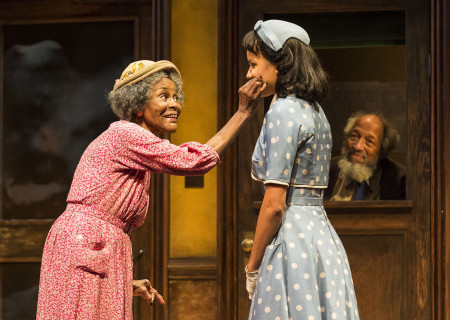 (L–R) Cicely Tyson, Jurnee Smollett-Bell and Arthur French in the critically acclaimed, Tony-nominated Broadway revival of Horton Foote's American masterpiece 'The Trip to Bountiful' at the Ahmanson Theatre.