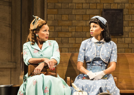 (L–R) Vanessa Williams and Jurnee Smollett-Bell in the critically acclaimed, Tony-nominated Broadway revival of Horton Foote's American masterpiece 'The Trip to Bountiful' at the Ahmanson Theatre.