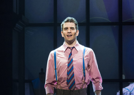 "Shayne Kennon in ""Harmony"" at the Ahmanson Theatre."