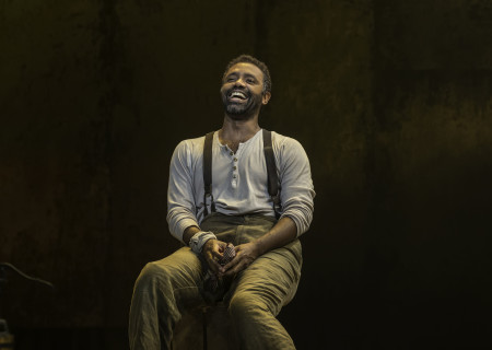 """Nathaniel Stampley in """"The Gershwins' Porgy and Bess."""""""