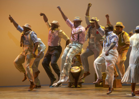 """The cast of """"The Gershwins' Porgy and Bess."""""""