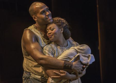 "David Hughey and Sumayya Ali in ""The Gershwins' Porgy and Bess."""