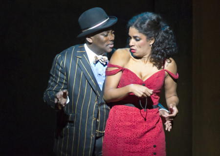 """Kingsley Leggs and Alicia Hall Moran in """"The Gershwins' Porgy and Bess."""""""