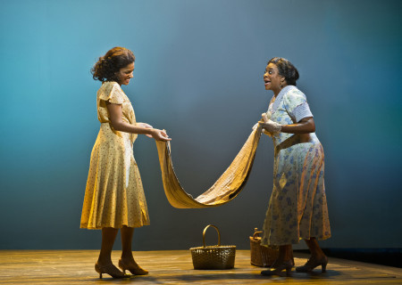 """(L–R) Alicia Hall Moran and Danielle Lee Greaves in """"The Gershwins' Porgy and Bess."""""""