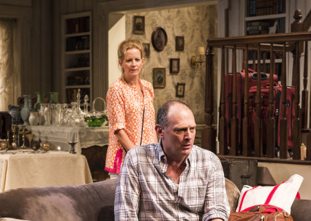 Missy Yager and David Bishins in Branden Jacobs-Jenkins' 'Appropriate' at the Mark Taper Forum.