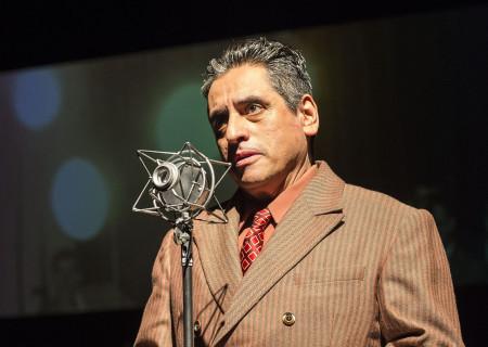 Richard Montoya in Culture Clash's 'Chavez Ravine: An L.A. Revival' at the Kirk Douglas Theatre.