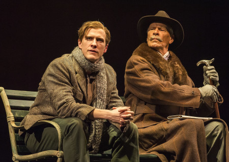 (L–R) Patrick Heusinger and Ray Baker in Martin Sherman's 'Bent' at the Mark Taper Forum.