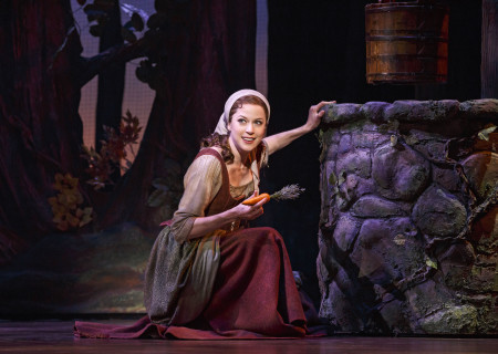 Paige Faure in the national tour of 'Rodgers & Hammerstein's Cinderella' at the Ahmanson Theatre.