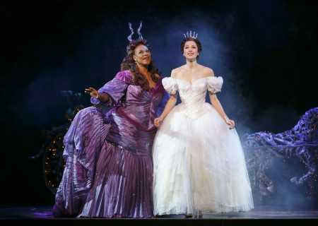 (L-R) Kecia Lewis and Paige Faure in the national tour of 'Rodgers & Hammerstein's Cinderella' Ahmanson Theatre.