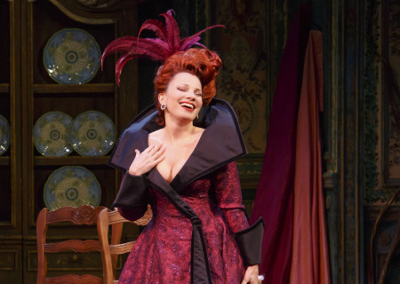 Fran Drescher in the Broadway production of 'Rodgers & Hammerstein's Cinderella.' Drescher reprised her role as Madame at the Ahmanson Theatre.