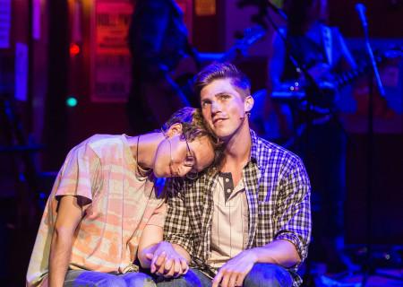 L - R: Ryder Bach and Curt Hansen in 'Girlfriend.'