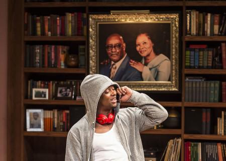 Kamal Angelo Bolden in Paul Oakley Stovall's 'Immediate Family' at the Mark Taper Forum.