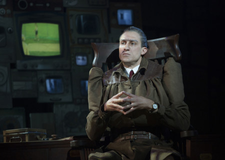 Bryce Ryness in the National Tour of 'Matilda The Musical'at the Ahmanson Theatre.<br />