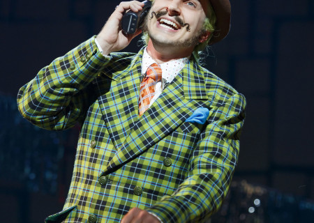 Quinn Mattfeld in the National Tour of 'Matilda The Musical'at the Ahmanson Theatre. <br />
