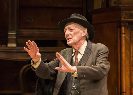 Alan Mandell in Arthur Miller's classic drama 'The Price' at the Mark Taper Forum.