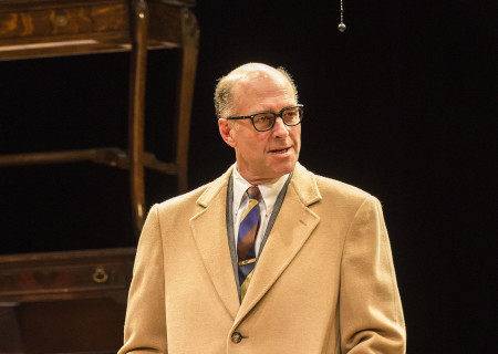 John Bedford Lloyd in Arthur Miller's classic drama 'The Price' at the Mark Taper Forum.