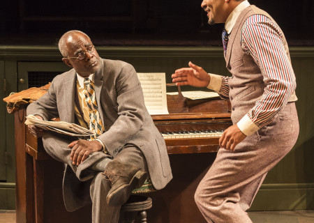 L-R: Glynn Turman and Jason Dirden in August Wilson's 'Ma Rainey's Black Bottom.'