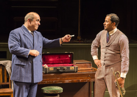 L-R: Matthew Henerson and Jason Dirden in August Wilson's 'Ma Rainey's Black Bottom.'